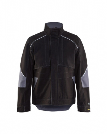 Blaklader 4061 Anti-Flame Jacket (Black/Grey)